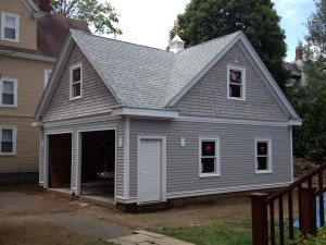 Garage Construction - Newton, MA
