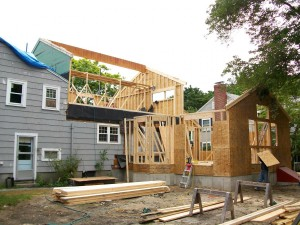 Addition and roof raise - Waban, MA